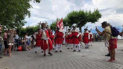 Zentralschweizer Regierungen stossen an der Fête des Vignerons an