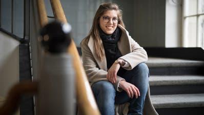 Sie ist die grosse Nachwuchshoffnung der Grünen: Franziska Ryser will am 20. Oktober in den Ständerat. (Bild: Benjamin Manser)