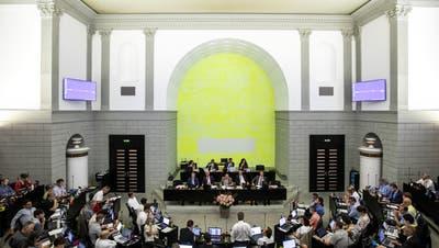 CVP und FDP wollen auch im Luzerner Kantonsrat –auf dem Bild ist das Parlament während der Klima-Sondersession vom 24. Juni zu sehen – eng zusammenarbeiten. (Bild: Alexandra Wey/Keystone)