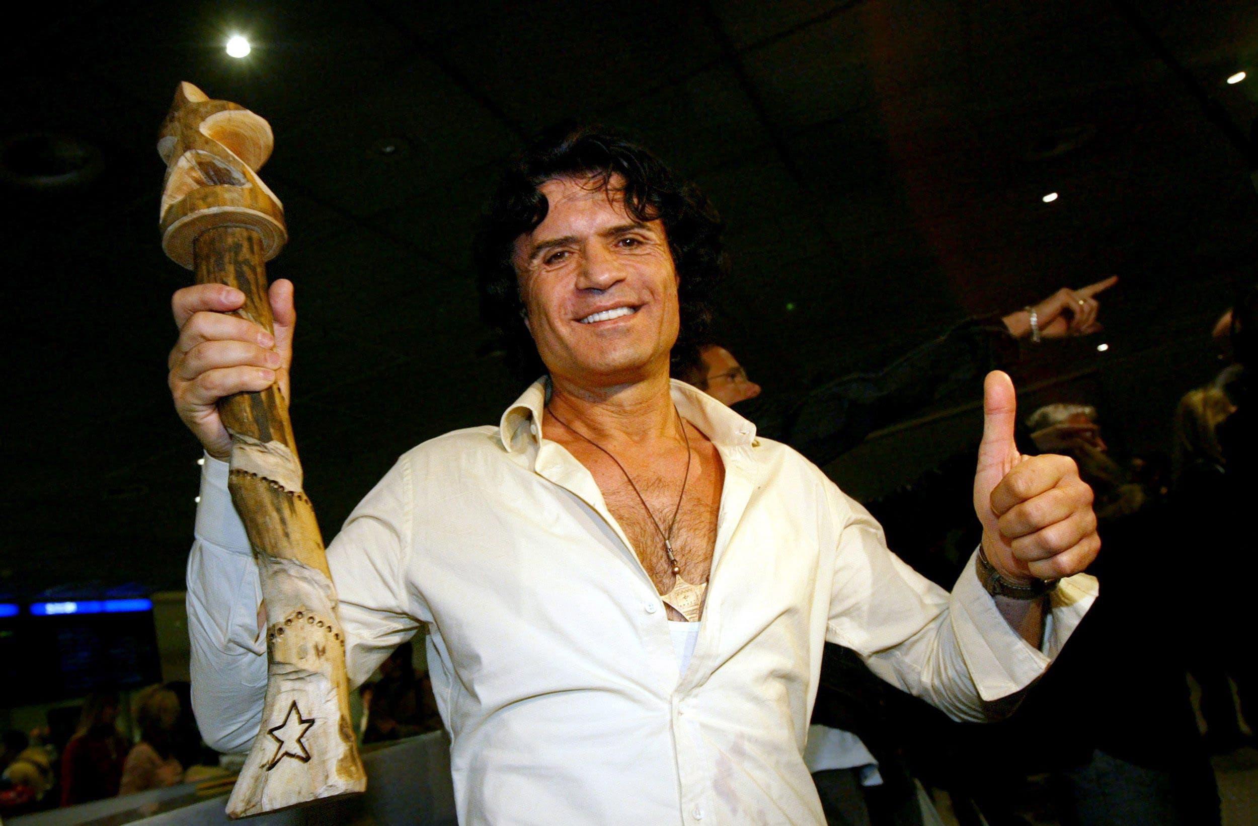 Cordalis war 2004 der erste Dschungelcamp-Gewinner. (Bild: EPA/Frank May)