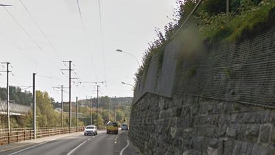Bauarbeiten an derReussthalmauer verlangen nächtliche Strassensperrungen