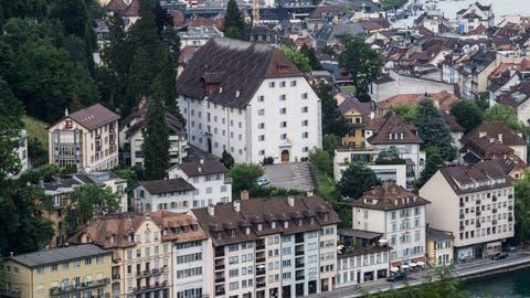 Das alte Zeughaus Musegg wird als Museumsstandort geprüft. (Bild: Boris Bürgisser, Luzern, 3. Juli 2019)