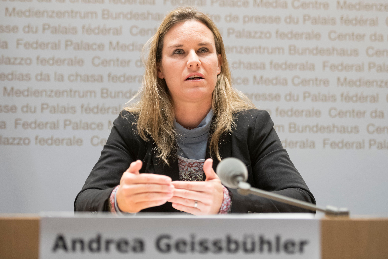 Rang 1 auf der Liste der Pflichtbewussten: Andrea Geissbühler verpasste in der laufenden Legislatur 0,07 Prozent der Abstimmungen. (Bild: key)