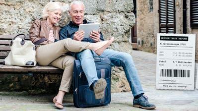 Die Schweizer Bevölkerung bleibt zunehmend auch im Alter fit und aktiv. Darunter leidet die Altersvorsorge. (Bild: Getty)