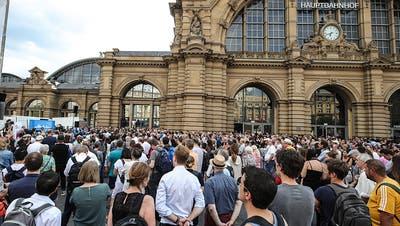 Der mutmassliche Täter von Frankfurt war in psychiatrischer Behandlung