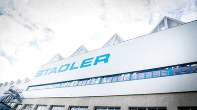 Für Stadler bedeutet die Entscheidung der BerlinerVergabekammer aber noch nicht den endgültigen Zuschlag.(Bild: Andrea Stalder)