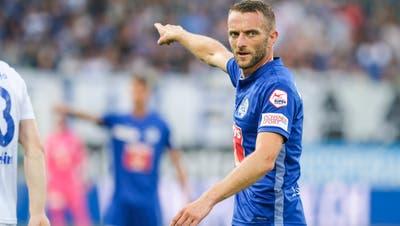 Wohin führt sein Weg? Beim FC Luzern schliesst sich das Kapitel Christian Schneuwly. (Bild: Martin Meienberger/freshfocus)