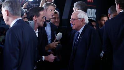 Die TV-Debatte der US-Demokraten zeigt Gräben auf