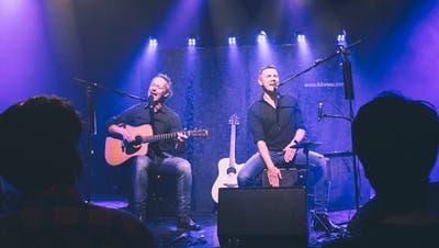 Die Band iMoreez:Urs Eberle und René Pulfer. (Bild: PD)