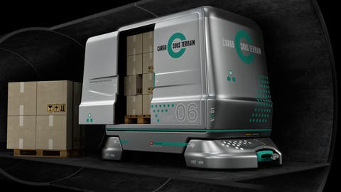 Die Güter sollen unter der Erde transportiert werden - vollautomatisch und mit Ökostrom. (Bild: Cargo Sous Terrain)