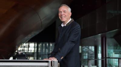 Peter Mendler (67) auf der Dachterrasse des KKL. (Bilder: Nadia Schärli, Luzern, 7. Juni 2019)
