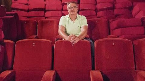 Sämtliche Sessel des Kino Rex stehen zum Verkauf. (Bilder: Benjamin Manser)