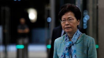 Hongkongs Regierungschefin bezeichnet Auslieferungsgesetz als «tot»