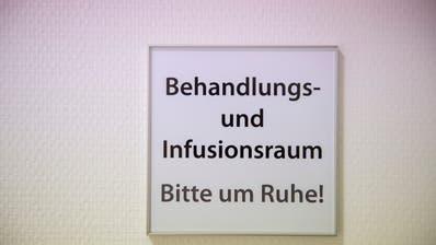 Bei Kontamination bitte inhalieren. (Bild: Urs Bucher)