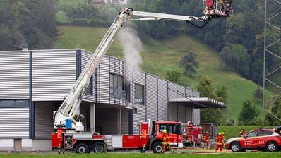 Brand in Brunnen: Glück im Unglück im Milchhuus