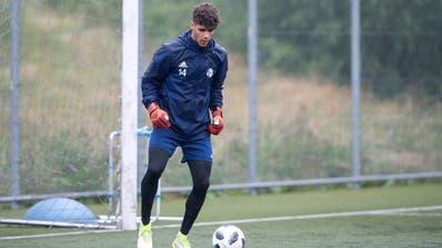 Fabio Zizzi vor einem Jahr beim Trainingsstart des FC Luzern. (Bild: Pius Amrein, 13. Juni 2018)