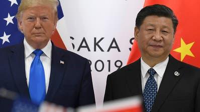 Eskalation im Handelskrieg mit China: USA verhängen neue Strafzölle
