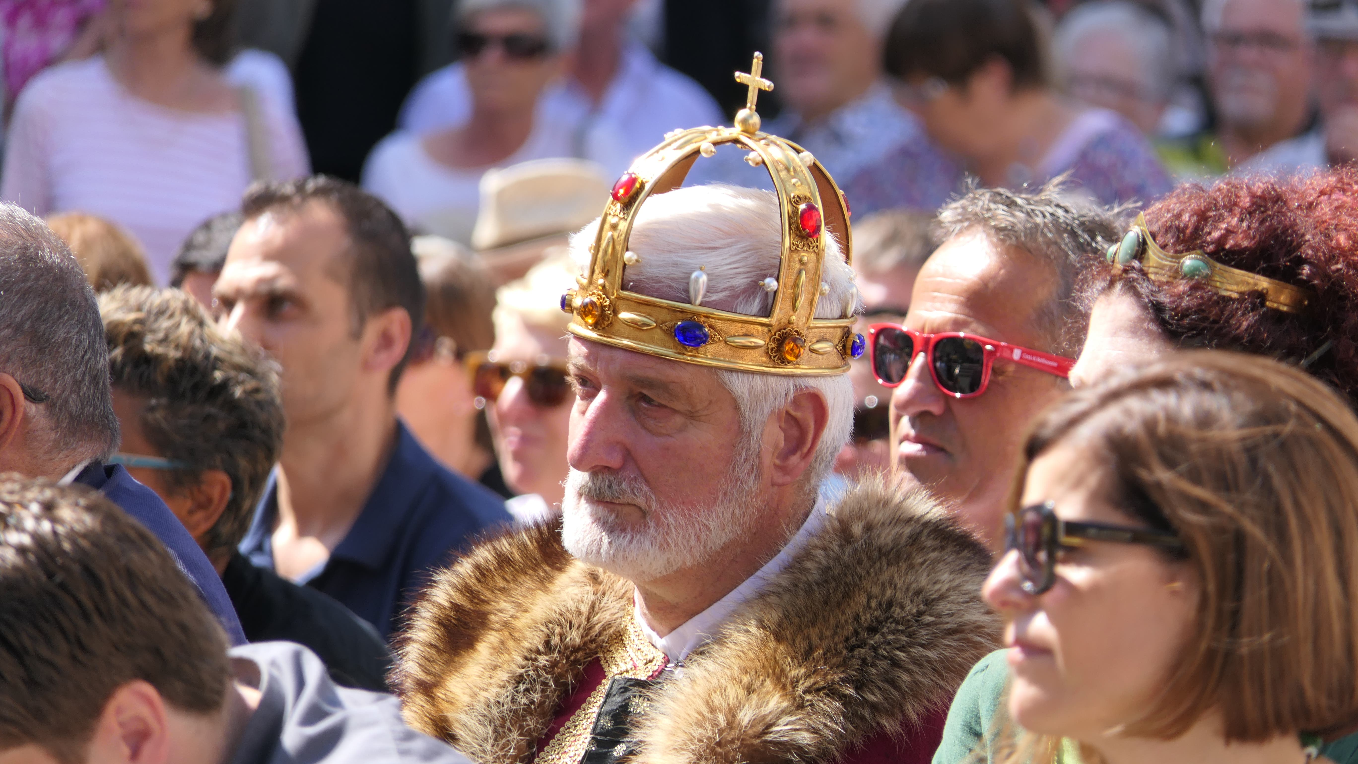 Sogar royale Gäste waren auszumachen. (Bild: Carmen Epp, Altdorf, 1. August 2019)