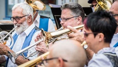 Das Altstadtfest bot viel musikalische Unterhaltung.. (Bilder: Andrea Stalder)