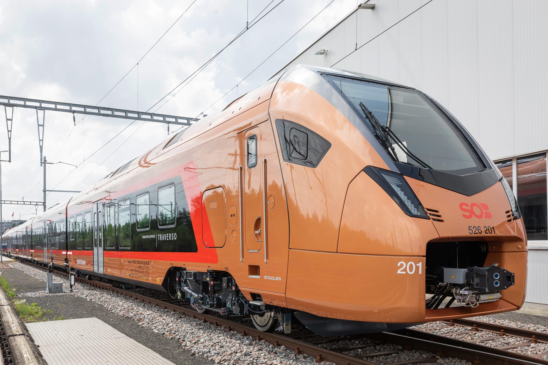 Ab Dezember 2019 ersetzt der neue «Traverso» die komplette Voralpen-Express Flotte. (Bild: Schweizerische Südostbahn AG)