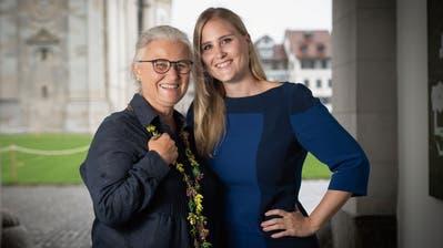 Doris Königer(links) und Monika Simmler teilen nicht nur ihre Leidenschaft für Politik, sondern auch fürs Segeln. (Bild: Ralph Ribi)