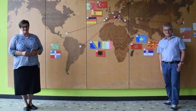 Seit Jahren setzt sich die Rickenbacher Schülerschaft aus verschiedensten Nationalitäten zusammen. (Bild: Philipp Wolf)