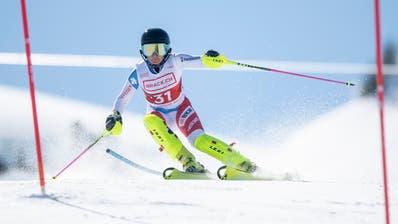 Das Skigebiet Hoch-Ybrig war Austragungsort der Ski AlpinSchweizermeisterschaft 2019. (Bild: Urs Flüeler/Keystone, 24. März 2019)