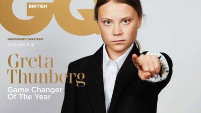 Darum ziert Greta Thunberg das Cover des Männermagazins GQ