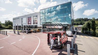 Ab Ende Oktober gibt es im Cinedome zehn statt acht Kinosäle. (Bild: Hanspeter Schiess (14. August 2019))