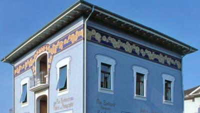 Die Literaturtage finden im Haus Max Burkhardt statt. (Bild: Max Eichenberger)
