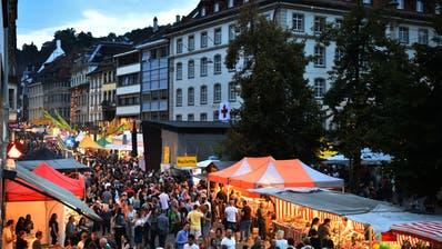 Das St.Galler Fest wird am Wochenende wieder Volksmassen in die Altstadt ziehen. (Bild: Michel Canonica)