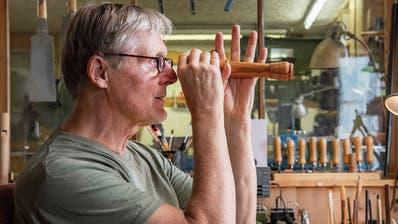 Vom Toggenburg in die Konzertsäle der Welt: Er feilt für die Flötenkönigin am Klang