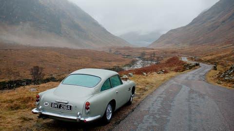 Im Geheimdienst Ihrer Majestät: Das Glencoe-Tal war Schauplatz von Dreharbeiten für den James-Bond-Film «Skyfall» mit Hauptdarsteller Daniel Craig. (Bild: David Coulin)
