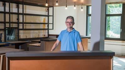 Beat Trummer ist der neue Wirt im noch nicht ganz fertig umgebauten Restaurant Obernau in Kriens. (Bild: Boris Bürgisser, 16. August 2019)