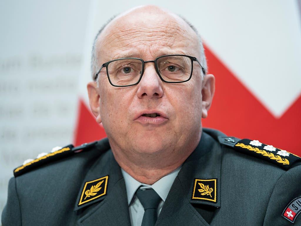 Für die Integration von Transmenschen in die Armee: der scheidende Armeechef Philippe Rebord. (Bild: KEYSTONE/PETER SCHNEIDER)