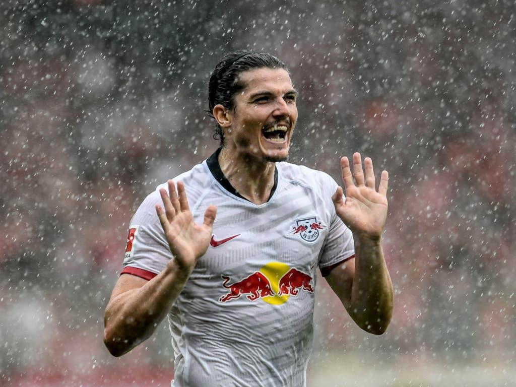 Marcel Sabitzer spielte die Berliner schwindlig (Bild: KEYSTONE/EPA/FILIP SINGER)