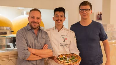 Die Pizzeria an der Frankenstrasse ist jetzt offen. (Bild: Chiara Stäheli, 8. August 2019)