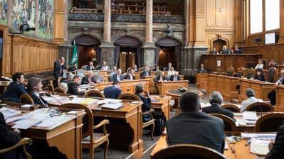 Dem Ständerat steht ein grosser Wandel bevor: Mindestens 20 Sitze werden bei den Wahlen 2019 neu besetzt. (Bild: Peter Schneider/Keystone (Bern, 7. Juni 2018))