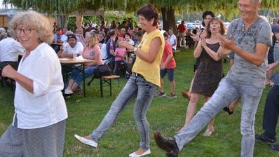 Die Gäste schwangen das Tanzbein. (Bild: Margrith Pfister Kübler)