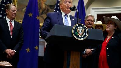 Trump verkündet Abkommen für Rindfleisch-Streit mit EU