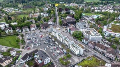 Das Gebiet rund um den Marktplatz verwandelt sich während der nächsten Monate in eine Grossbaustelle. (Bild: Olaf Kühne)