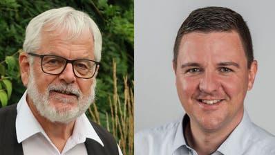 Isidor Affentranger (links) und Marco Müller (Bilder: PD)