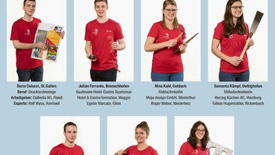 «Wöchentlich fünf bis zehn Stunden trainiert»: Das sind die sieben World-Skills-Teilnehmer aus der Ostschweiz