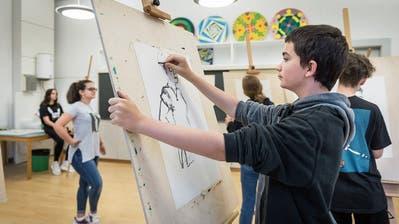 Auf das neue Schuljahr hin sind alle St.Galler Talentschüler unter einem Dach vereint