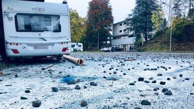 Der Tag nach dem Vorfall im Oktober 2018. (Bild: Stapo SG)