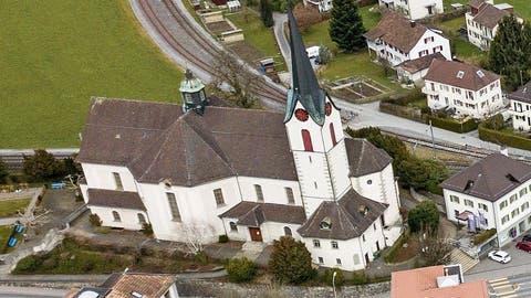Ein verklemmter Gewichtsaufzug hat das Glockengeläut in der katholischen Kirche in Goldach falsch läuten lassen. (Archivbild: Tino Dietsche)