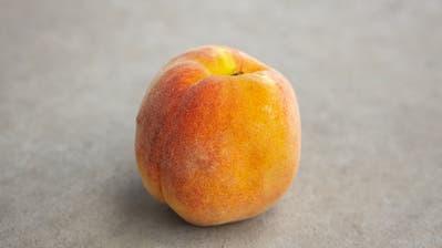 Bitte reinbeissen: Kaum eine Frucht hat eine solch weiche Schale. Das ist bei Schweizer Pfirsichen nicht anders.  Bild: Chris Iseli