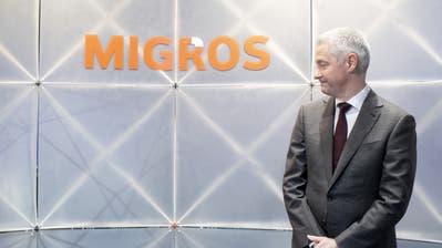 Migros-Chef Fabrice Zumbrunnen schweigt zum Verfahren gegen seinen früheren Chef. (Bild: Ennio Leanza/Keystone, 27. Juni 2019, Zürich)