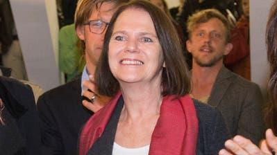Claudia Friedl kann nach ihrem Erfolg 2015 für die SP als Bisherige an den Start gehen. (Bild: Ralph Ribi)