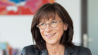 Im Herbst will Regierungsrätin Heidi Hanselmann der Öffentlichkeit die neue Spitalstrategie vorstellen. (Bild: Urs Bucher)